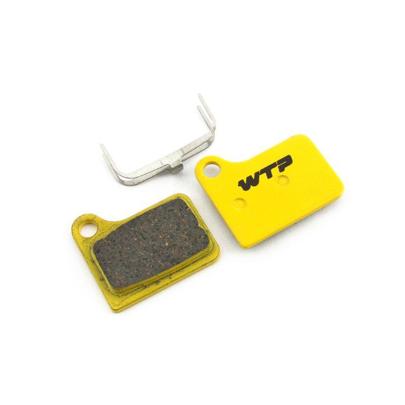 Plaquettes de frein vélo WTP compatibles Shimano Deore / Nexave hydrau. Organiques