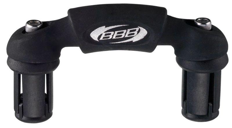 Support adaptateur BBB Aerofix Noir - BHB-55