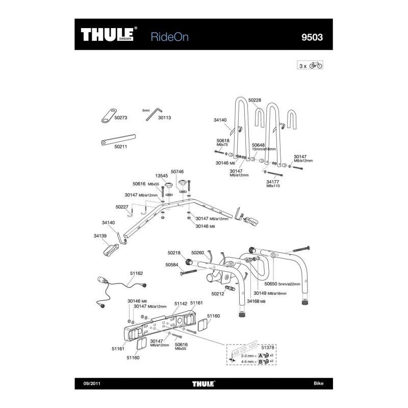 Molette Thule M8 - 13545 - 9