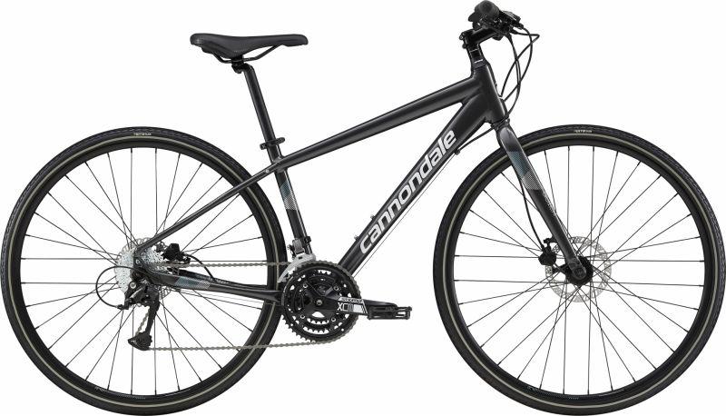 Vélo fitness femme Cannondale Quick Disc 5 WMN Graphite/Blanc