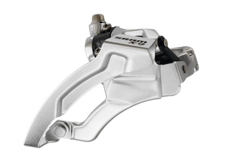 Dérailleur avant SRAM X9 collier bas 31,8 Top pull 1:1 ESP