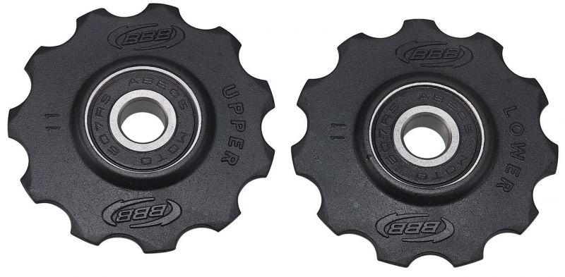 Galets de dérailleur BBB RollerBoys 11 dents Noir - BDP-02