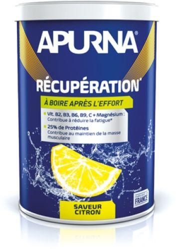 Boisson de récupération Apurna Citron Pot 400 g