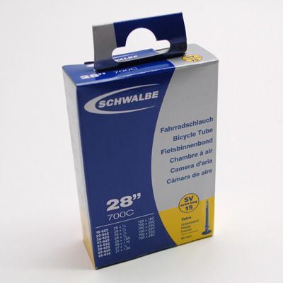 Chambre à air Schwalbe 700 x 18/28 SV15VL Presta 60 mm - 1