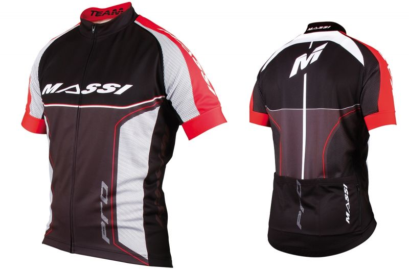Maillot Massi Pro Team Rouge