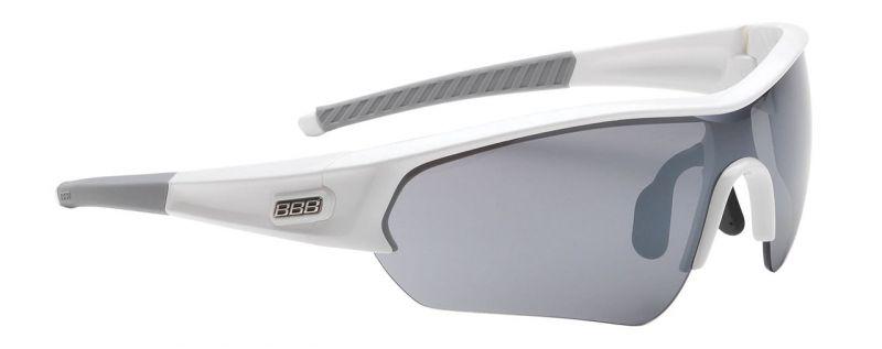 Lunettes BBB Select verre fumé Blanc - BSG-43