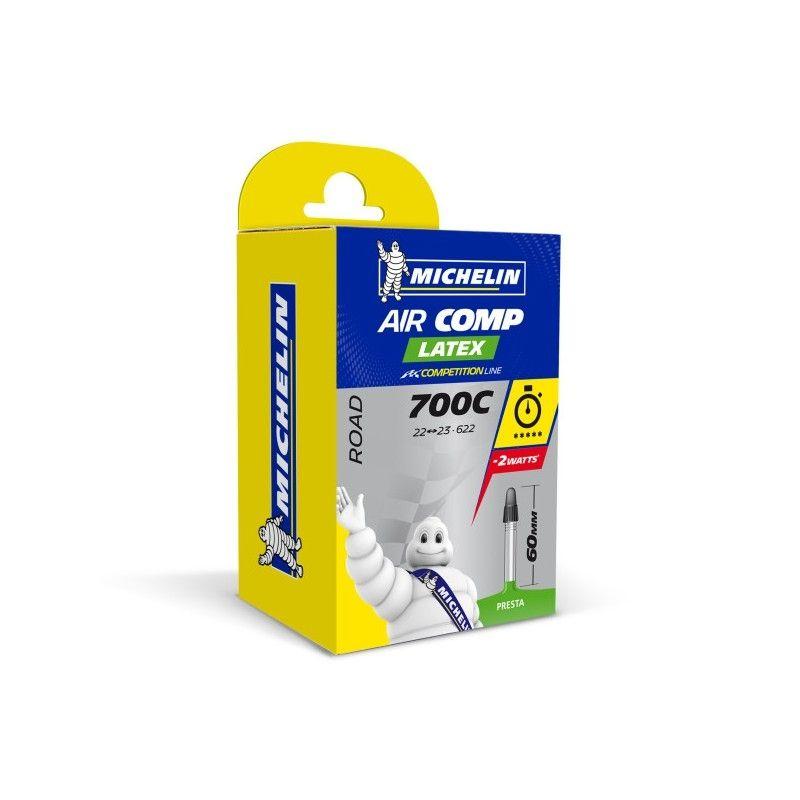 Chambre à air Michelin 700 x 22/23C A1 Air Comp Latex Presta 60 mm