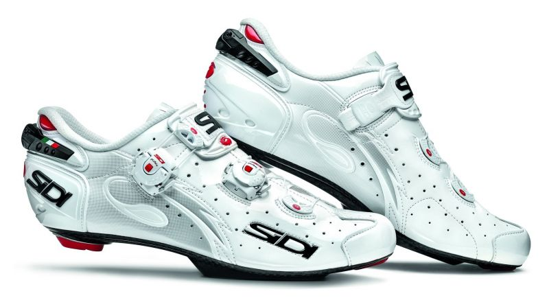 Chaussures Sidi WIRE Speedplay Carbon Vernice Blanc verni
