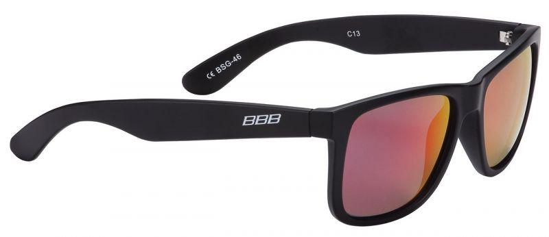 Lunettes BBB Street verres polarisés rouges Noir / Rouge - BSG-46