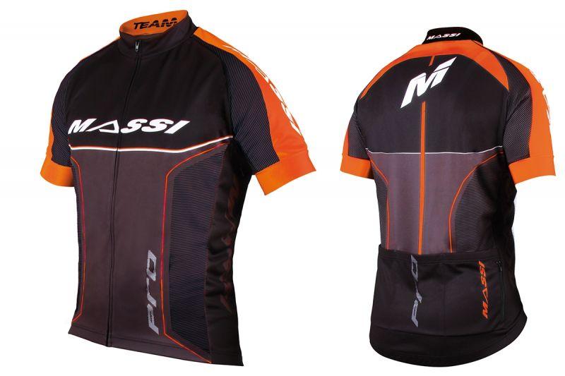 Maillot Massi Pro Team Noir/Orange