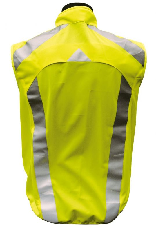 gilet de s curit sport l2s visioplus jaune fluorescent r fl chissant sur ultime bike. Black Bedroom Furniture Sets. Home Design Ideas