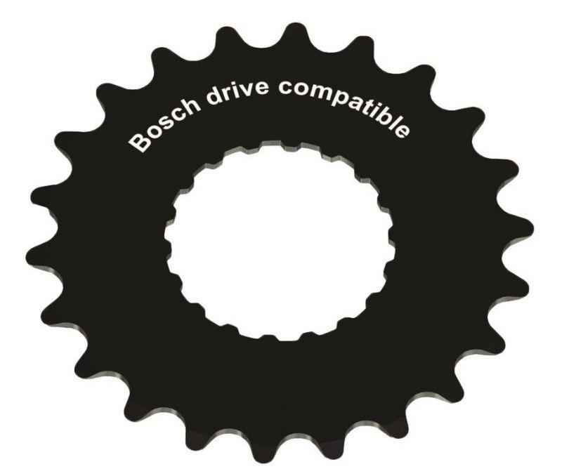 Plateau Stronglight E-Drive Bosch 2 19 dents Noir