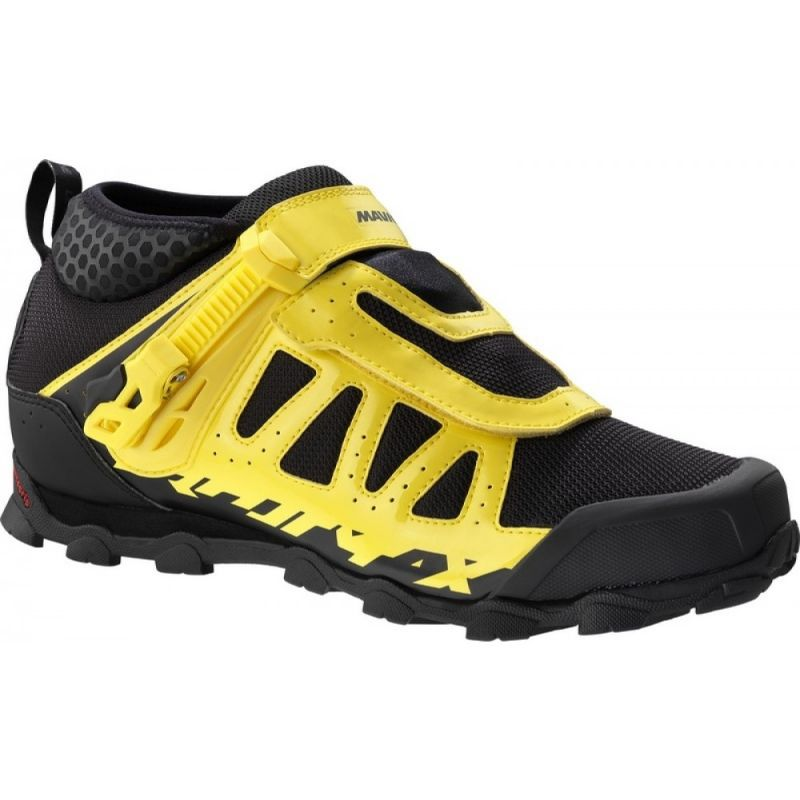 chaussures vtt mavic crossmax xl pro jaune noir sur. Black Bedroom Furniture Sets. Home Design Ideas