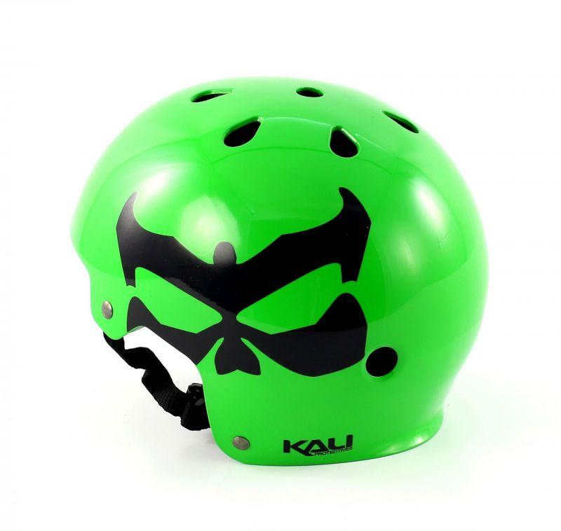 Casque Kali Protectives Maha Kali Logo Neon Vert