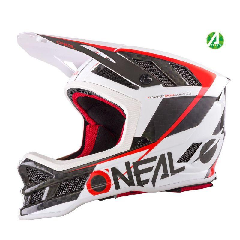 Casque O'Neal Blade Carbon GM Signature Blanc/Rouge