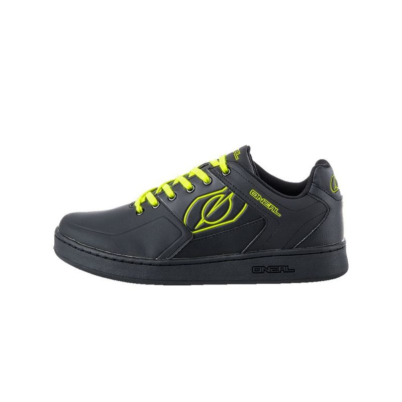 Chaussures O'Neal Pinned Pedal Noir/Jaune fluo