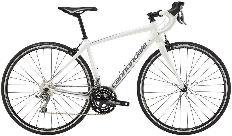 Vélo route femme Cannondale Synapse WMN Tiagra Blanc