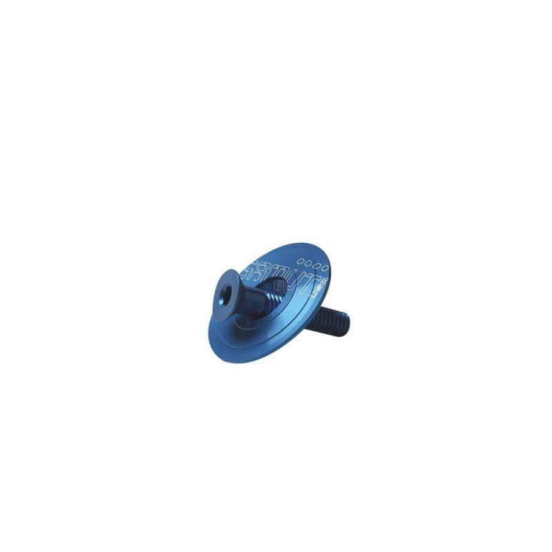 "Bouchon Headset + vis Gamut Cillos 1.1/8"" Anodisé Bleu"