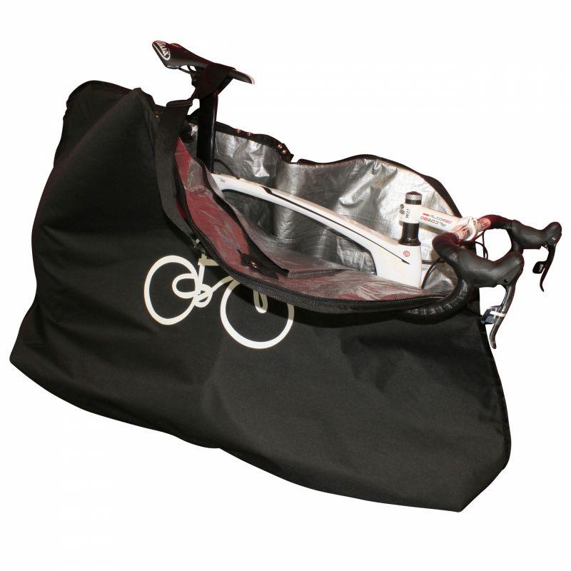 Housse de transport vélo Barbieri avec 2 poches pour roues Noir - 1
