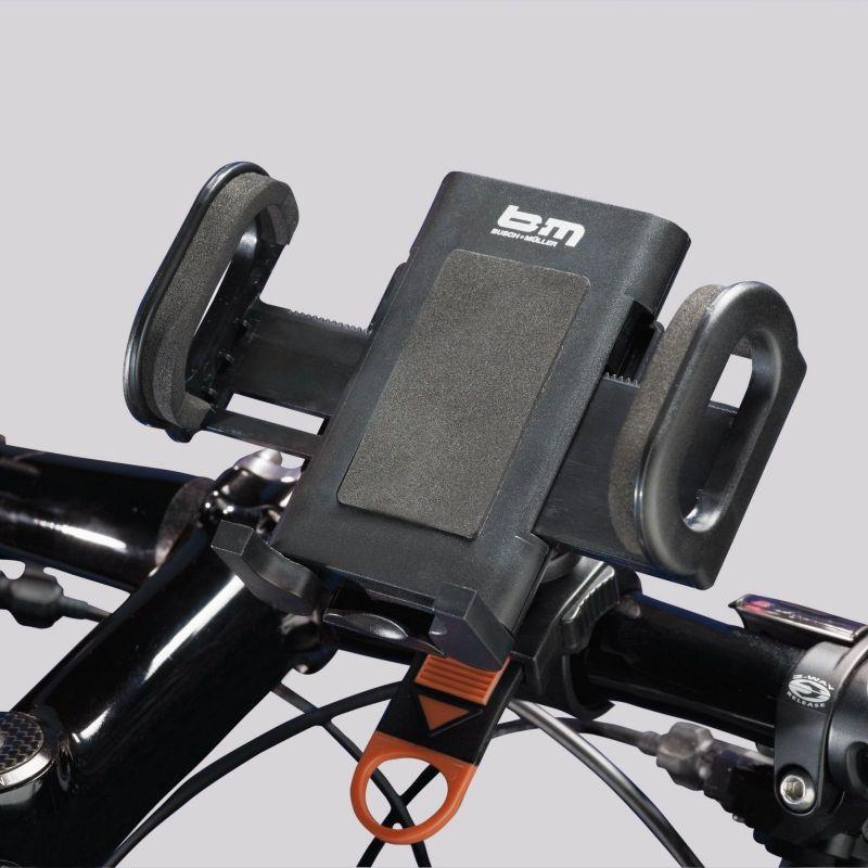 Support de guidon Universal Cockpit B&M pour largeur 45-115 mm - 1