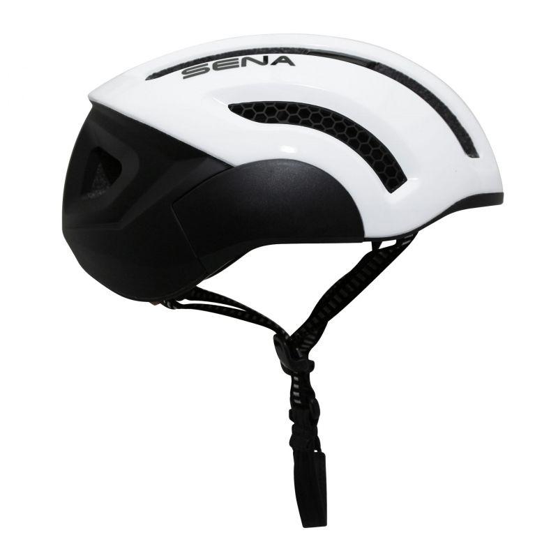 Casque vélo Sena X1 In-Mold Connection Bluetooth 4.1 Avec kit main-libre Blanc - 1
