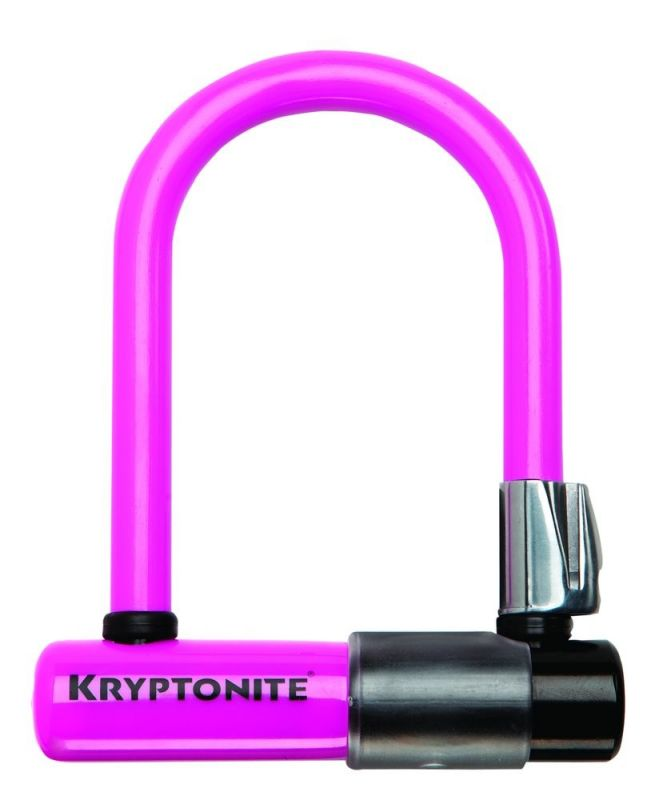 Skins Kryptonite pour antivol Evolution Mini U-Lock Rose