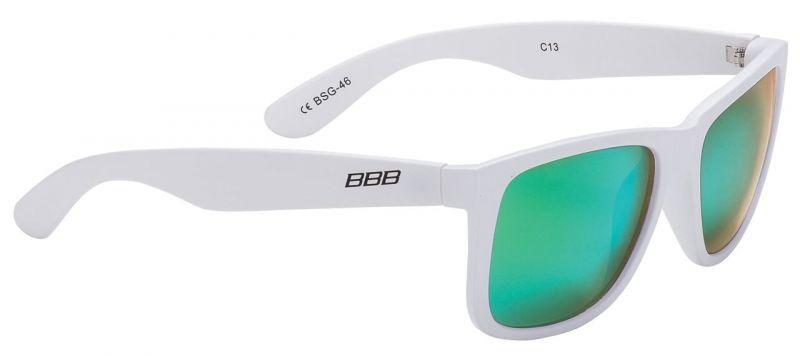 Lunettes BBB Street verres polarisés verts Blanc / Vert - BSG-46