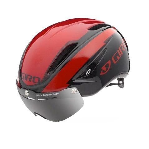 Casque Route Giro Air ATTACK Shield Rouge/Noir