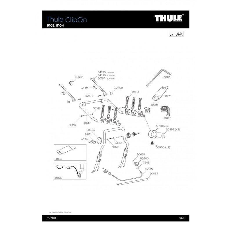 Molette Thule M8 - 13545 - 6