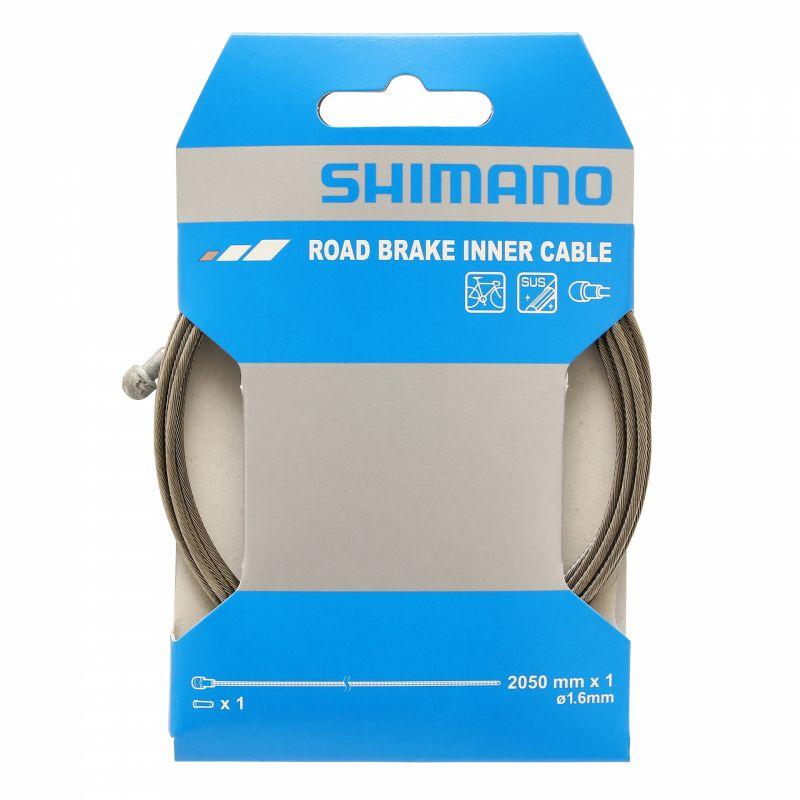 Câble de frein Shimano Route SUS 1,6x2050 (L'unité)
