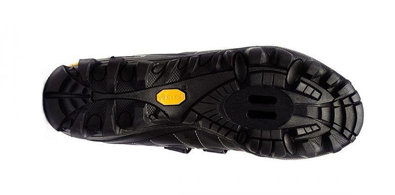 Chaussures Cyclo/Touring FLR Bushmaster Noir/Argent - 1
