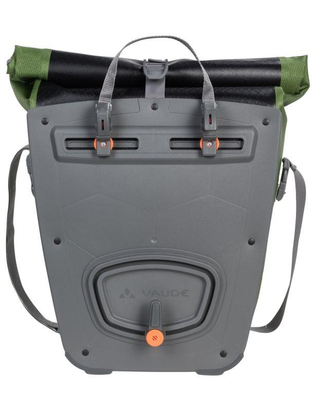 Sacoche porte-bagages Vaude Aqua Back Print Single 24 L Noir/Vert - 1