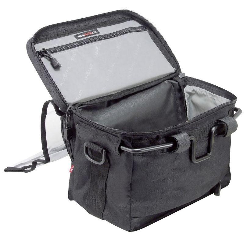 Sacoche avant KLICKfix Daypack 8 L Noir - 2