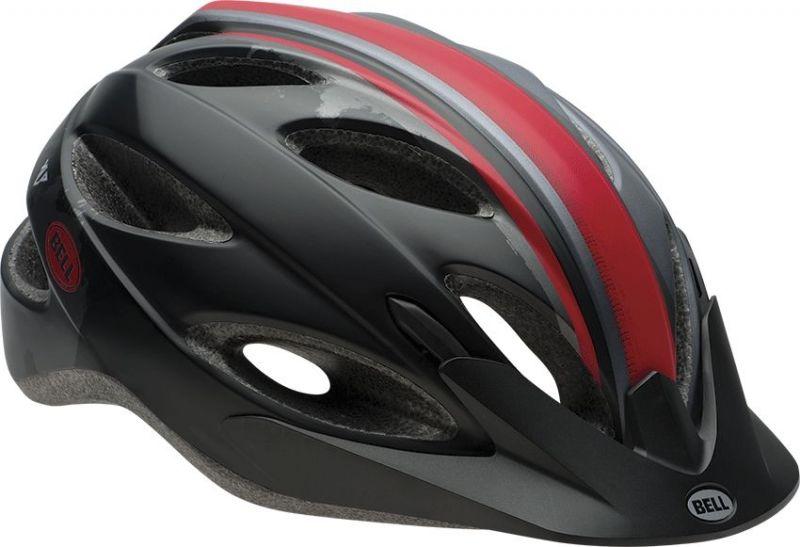 Casque Bell XLP Noir/Rouge/Argent