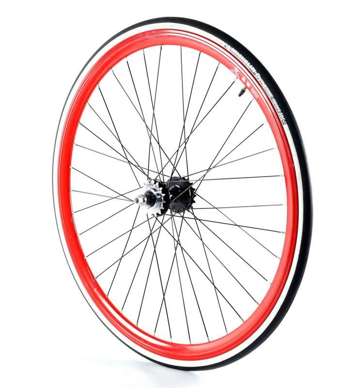 roue fixie arri re 700 gipiemme 030c flip flop hauteur 30 mm rouge sur ultime bike. Black Bedroom Furniture Sets. Home Design Ideas