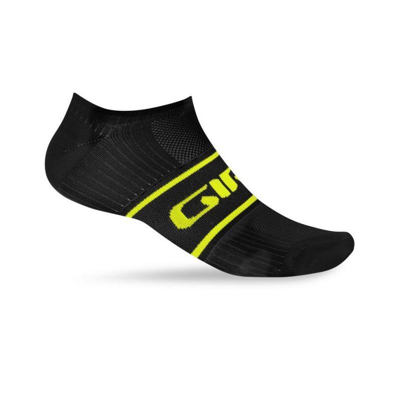 Chaussettes Giro COMP RACER LOW noir/jaune