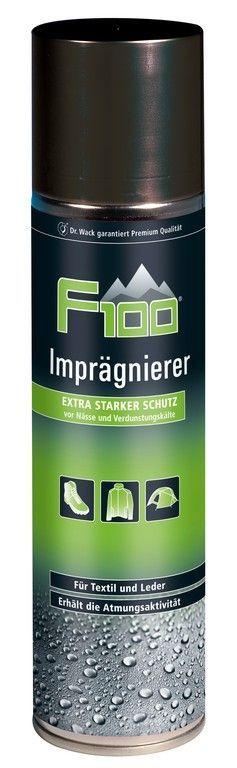 Produit imperméabilisant F100 spray 400 ml