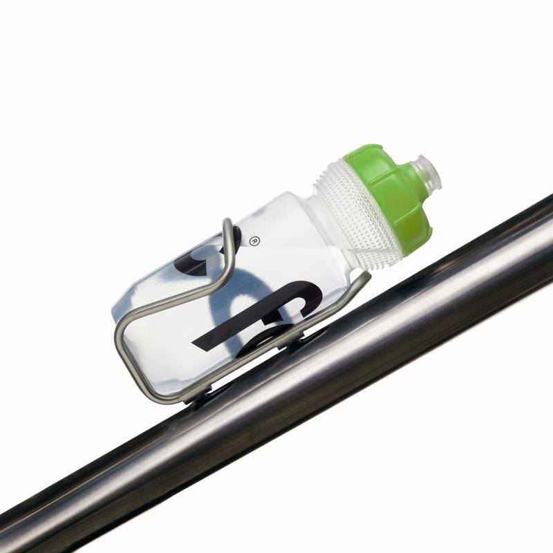 Bidon Fabric Gripper 600 ml Transparent/Vert - 1