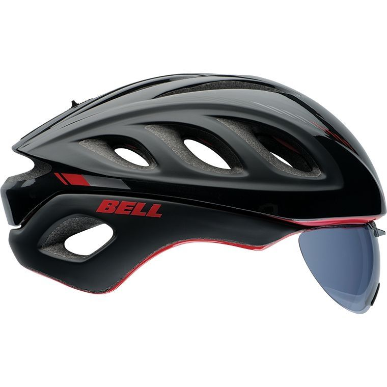 Casque Bell STAR PRO SHIELD Noir/Rouge