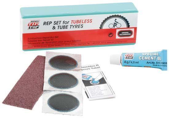 Nécessaire de réparation pneu tubeless Tip Top
