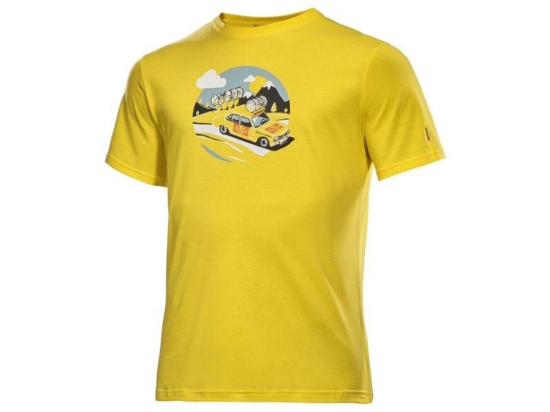 T-shirt Mavic SSC Yellow Car Jaune