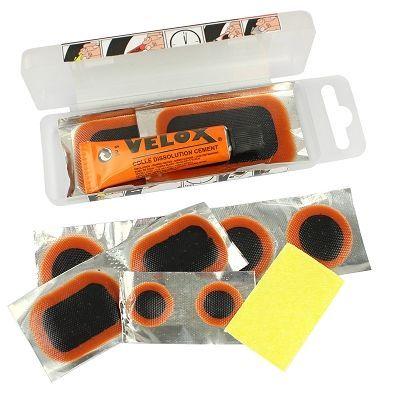 Nécessaire de réparation VELOX Allbike 9 Rustines + dissolution