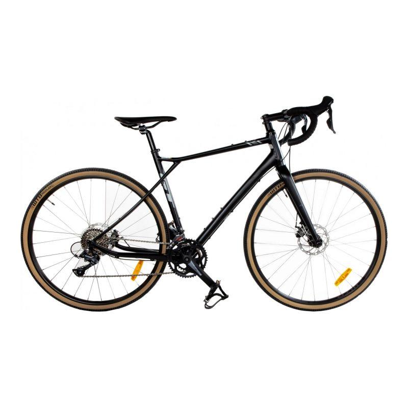 Vélo de Gravel GT Grade Élite Shimano Claris Noir 2020