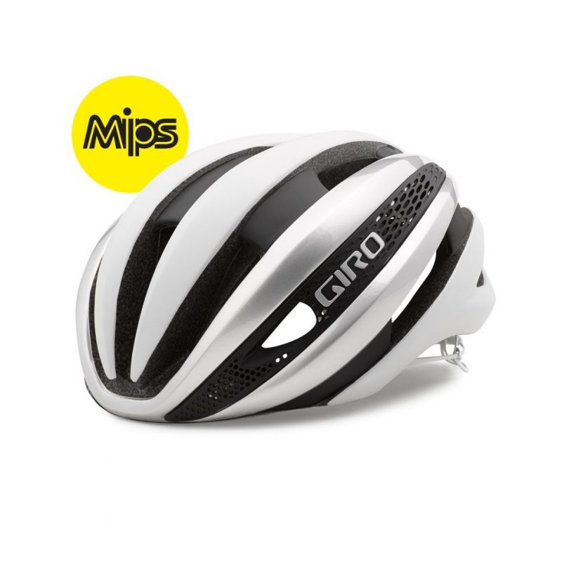 Casque Giro SYNTHE MIPS Blanc/Argent