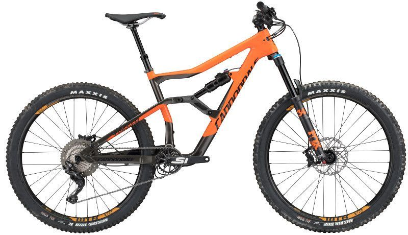 vtt cannondale trigger carbon 3 orange noir sur ultime bike. Black Bedroom Furniture Sets. Home Design Ideas