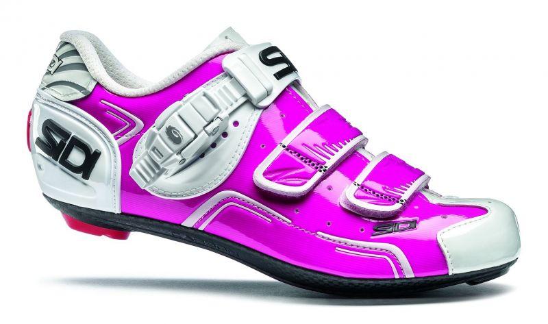 Chaussures Sidi LEVEL WOMAN fuchia/blanc