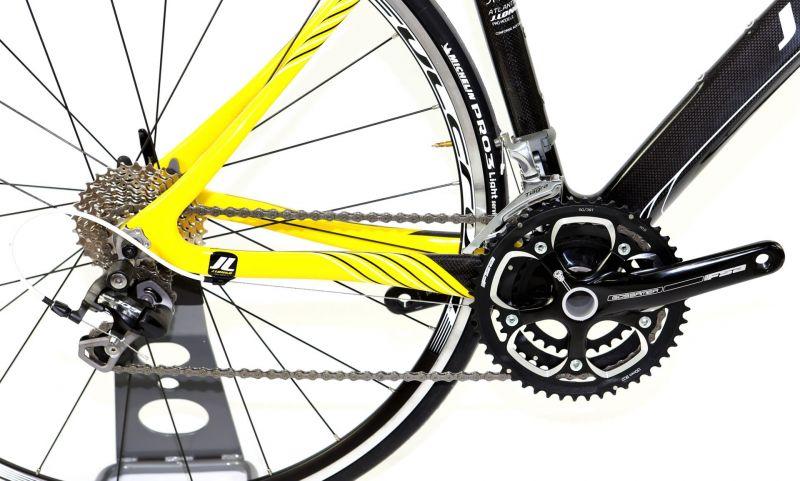 Vélo fitness J.LONGO Atlanta carbone 3x10V - 2