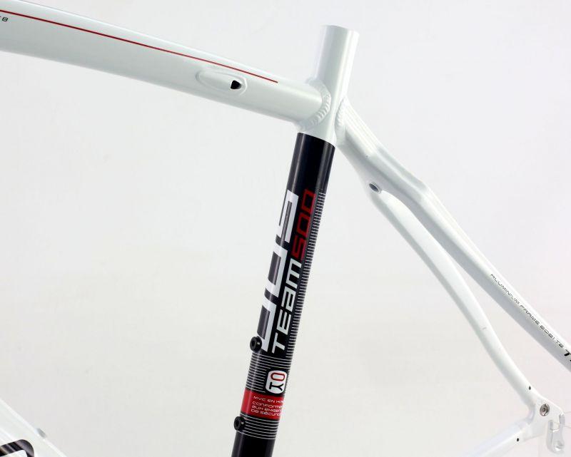 Cadre de route Orka Team 500 Aluminium Blanc (Sans fourche) - 5