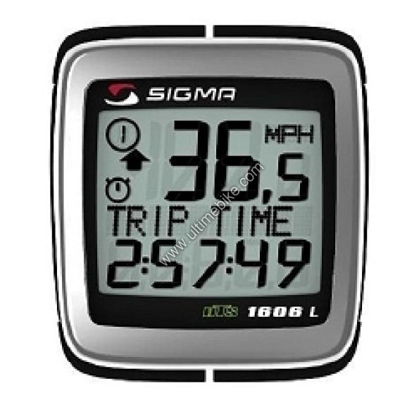 compteur sigma bc 1606 dts sans fil accessoires sur ultime bike. Black Bedroom Furniture Sets. Home Design Ideas