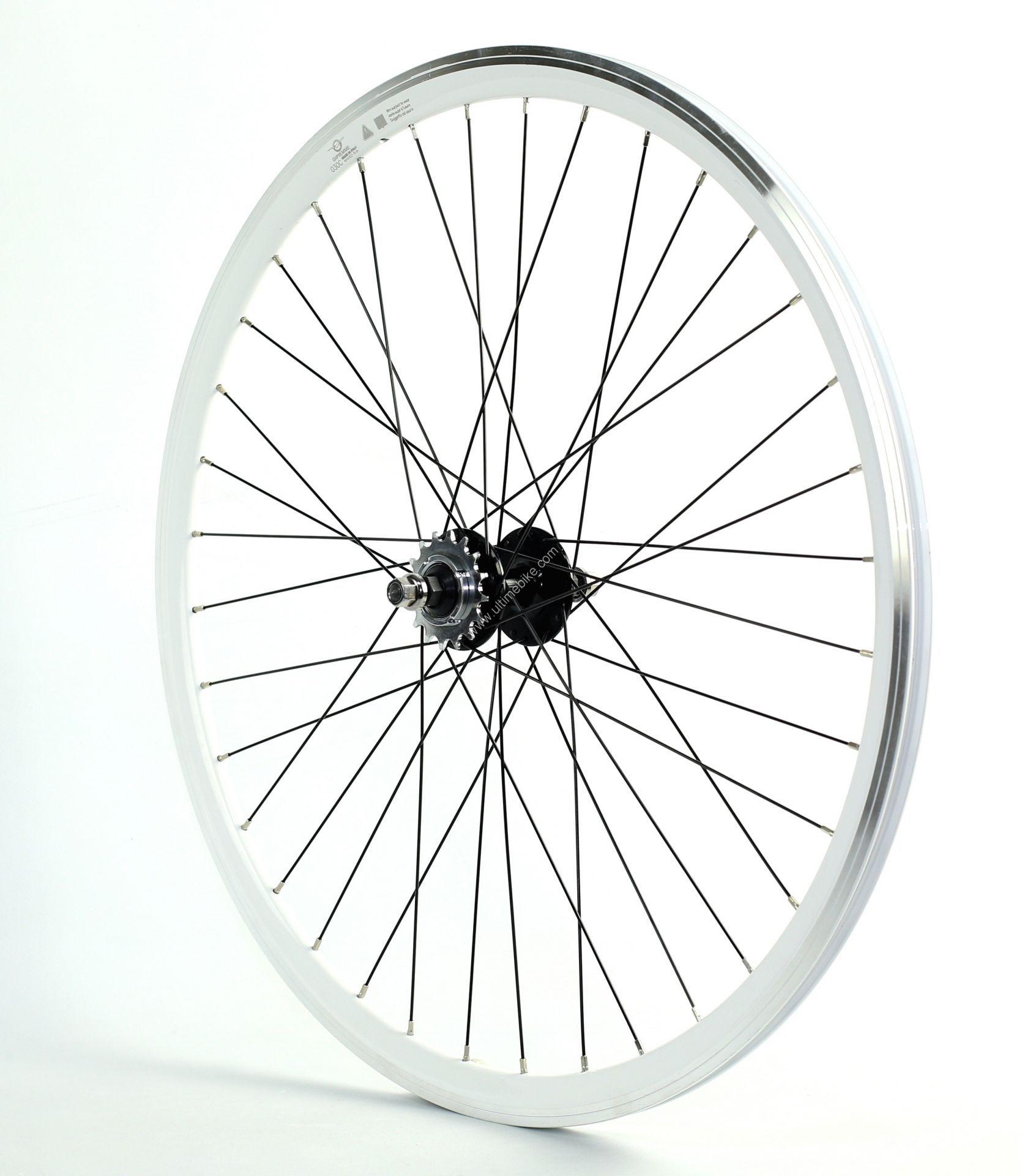 roue fixie arri re 700 gipiemme flip flop hauteur 30 mm blanche pi ces roues et pneus sur. Black Bedroom Furniture Sets. Home Design Ideas